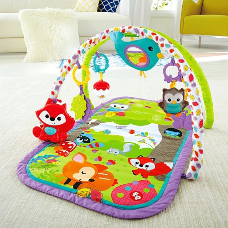 Fisher Price Woodland Friends 3-in-1 Musical Activity Gym (CDN47)