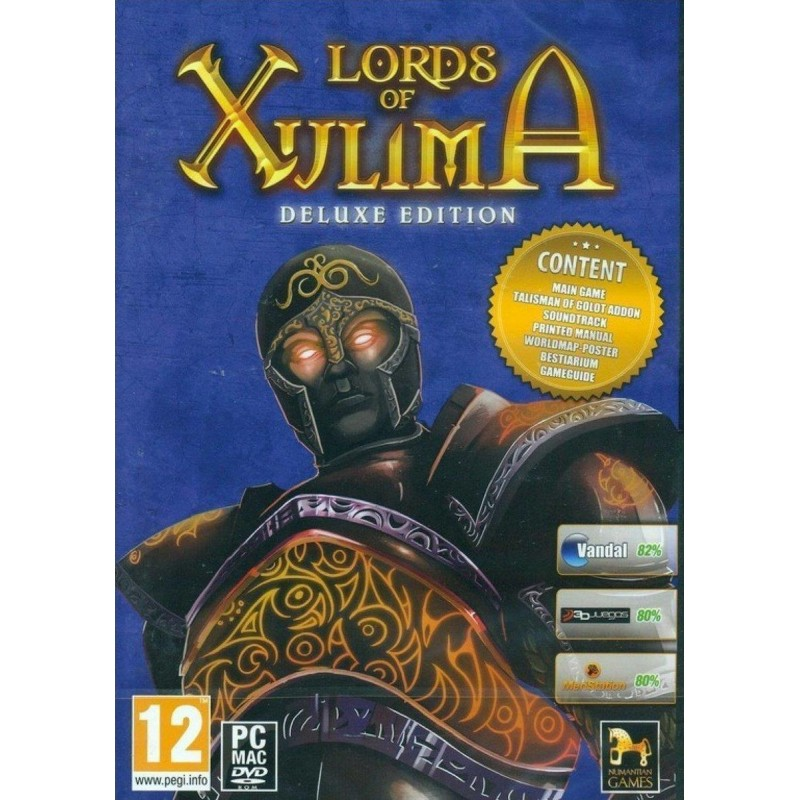 PC Lords Of Xulima – Deluxe Edition