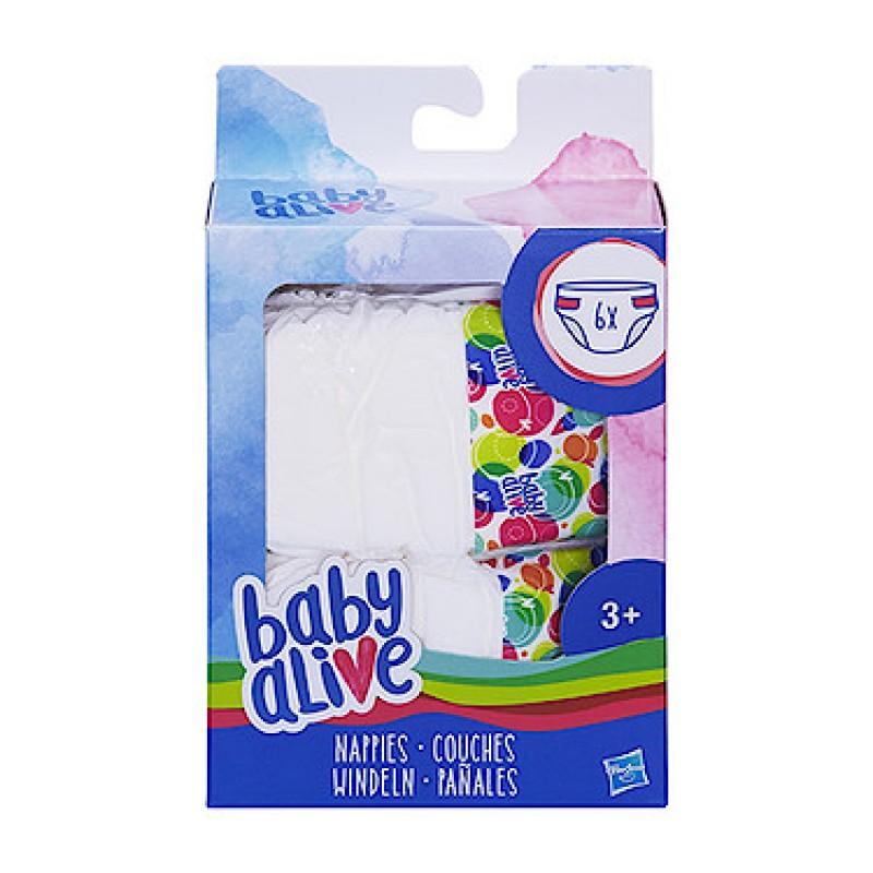 Hasbro Baby Alive Nappies Refill (C2723EU4)