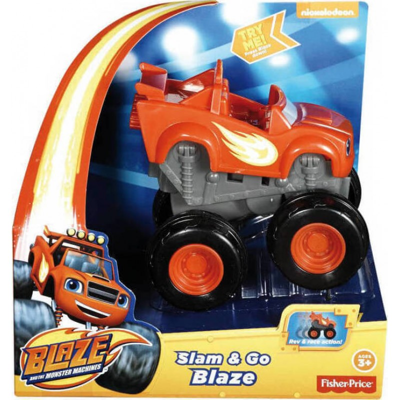 Fisher-Price Nickelodeon - Blaze And The Monster Machines - Slam AND Go - Darington (DYN40)