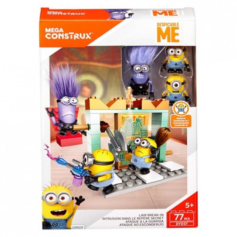 Mega Construx - Despicable Me - Lair Break-In (DYD37)