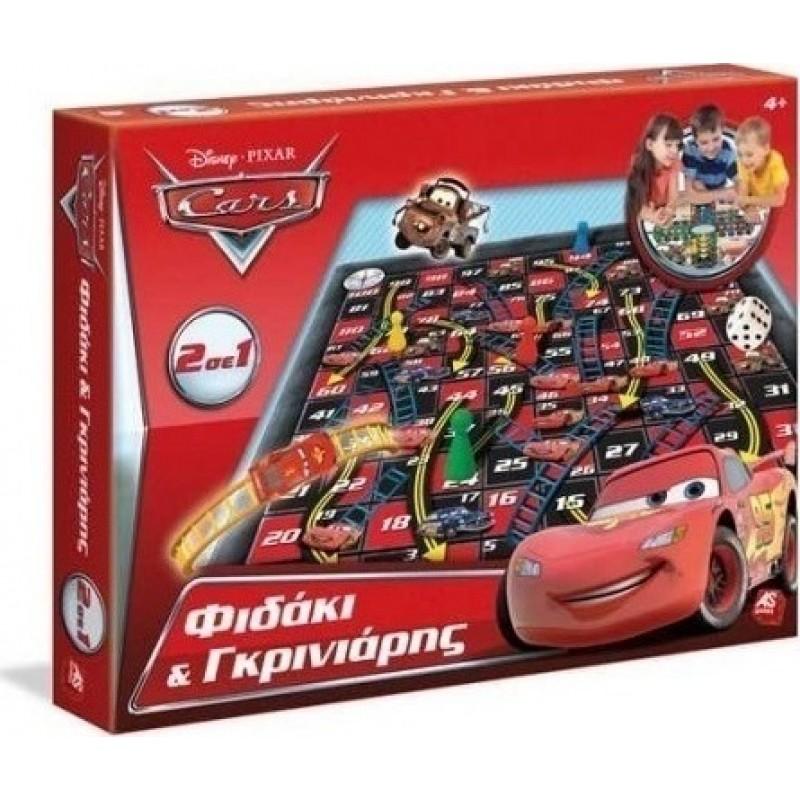 AS Disney Φιδάκι - Γκρινιάρης Cars 2σε1 Επιτραπέζιο (1040-63625)