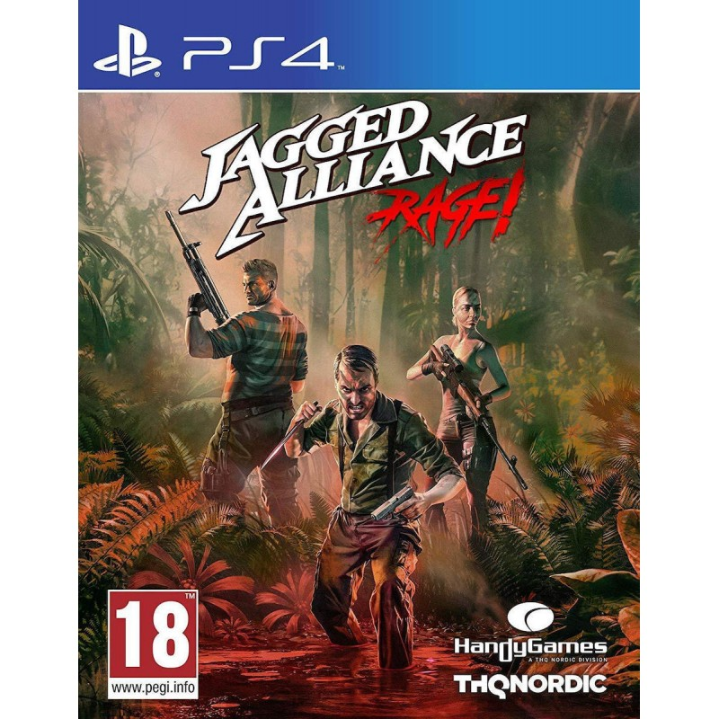 PS4 Jagged Alliance: Rage