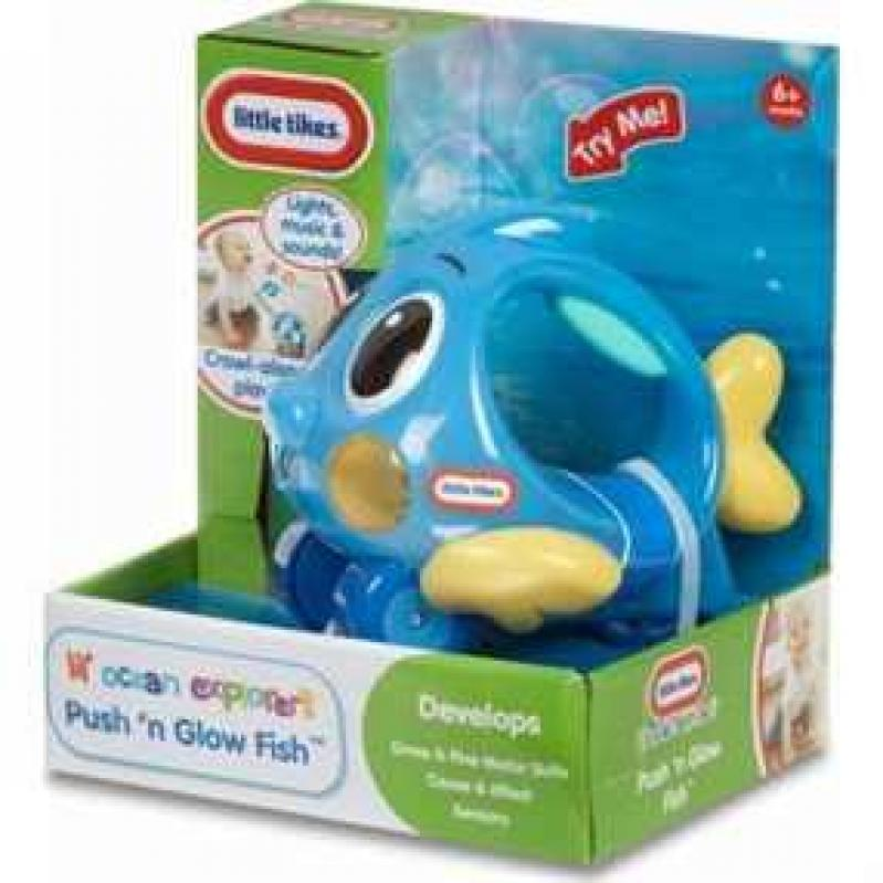 Giochi Preziosi Little Likes Lil' Ocean Explorer's -  Push 'n Glow Fish (GPHLT00110-GR)