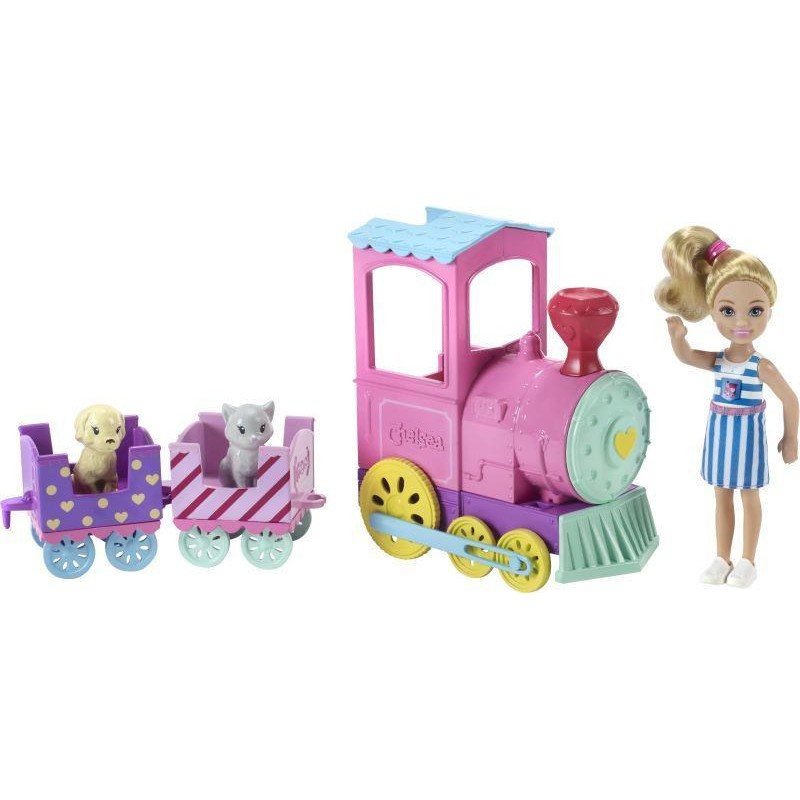 Mattel Barbie Chlsa - Choo Train with Doll (FRL86)