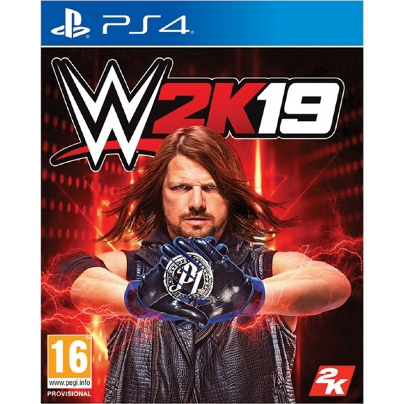 PS4 WWE 2K19 (Includes the Rey Mysterio AND Ronda Rousey Pack)