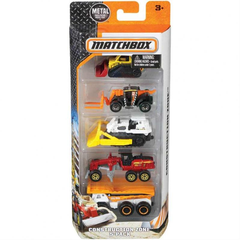Matchbox Random Vehicles Set of 5 (Assortment C1817)