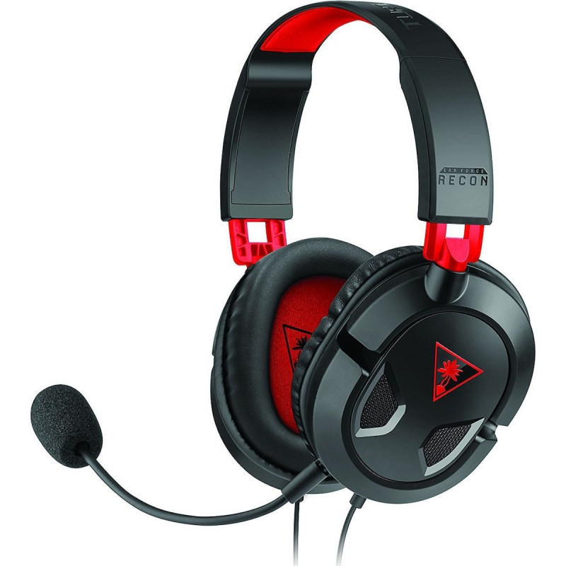 Turtle Beach Recon 50 Red Stereo Gaming Headset - Red (Multi)