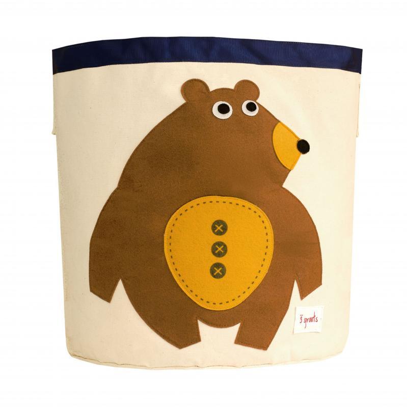 3 Sprouts - Storage Bin - Toffee Bear