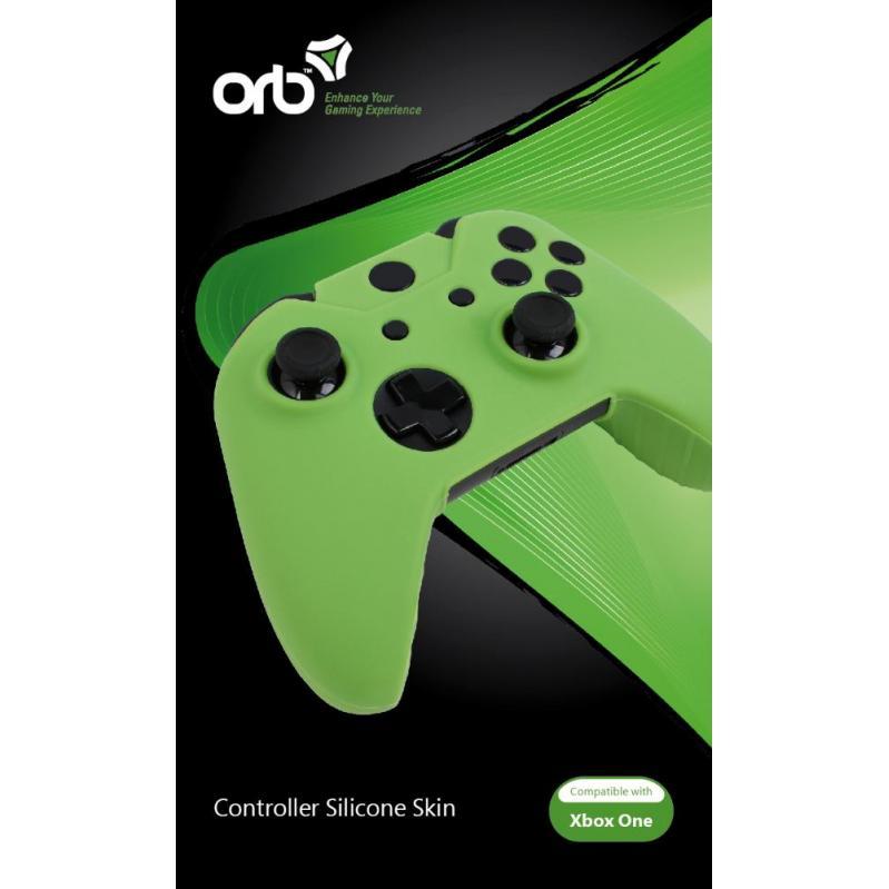 Xbox One - Silicon Skin Green (ORB) MPN-EAN 6942949009307