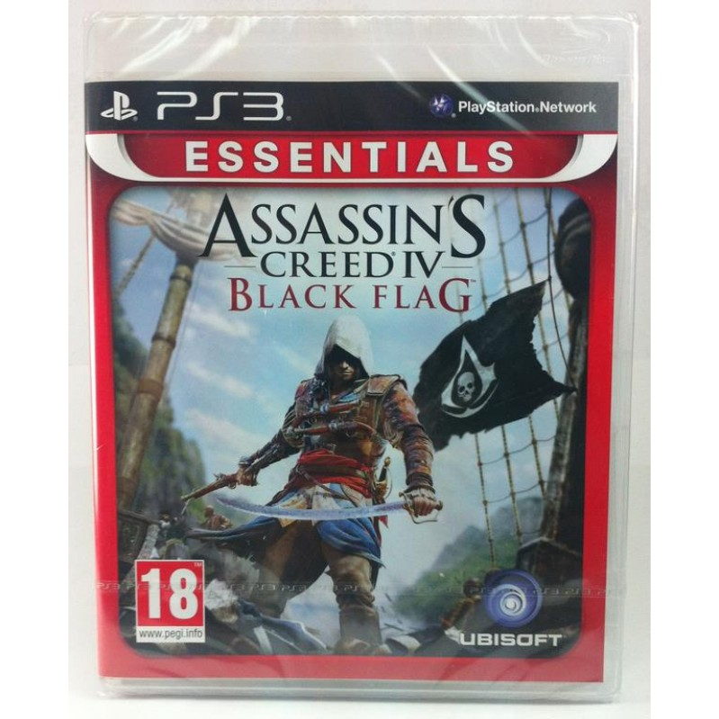 PS3 ASSASSINS CREED IV : BLACK FLAG