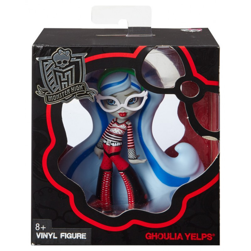 MATTEL MONSTER HIGH MINI DOLL - GHOULIA YELPS VINYL DOLL (CFC89)