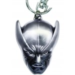 MARVEL DISCONTINUED WOLVERINE HEAD PEWTER METAL KEYCHAIN (7CM)