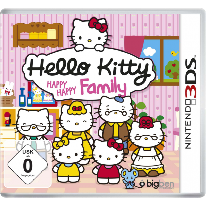 3DS HELLO KITTY HAPPY HAPPY FAMILY