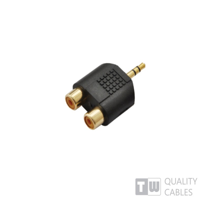 Adaptor Type St3.5MM M-X2rca F