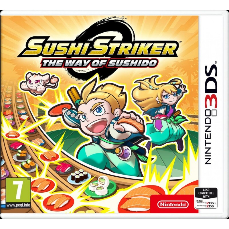 3DS Sushi Striker- The Way of Sushido