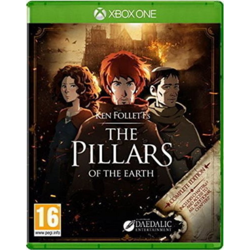 XBOX1 The Pillars of the Earth -  Complete Edition