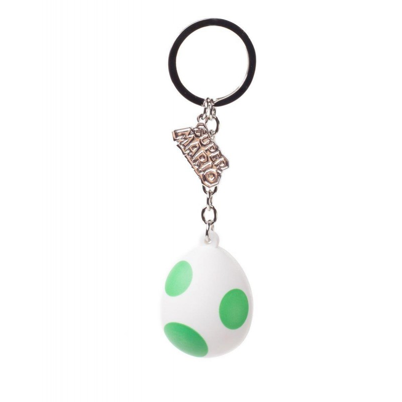 Nintendo -  Yoshis Egg Rubber 3D Keychain - KE150715NTN