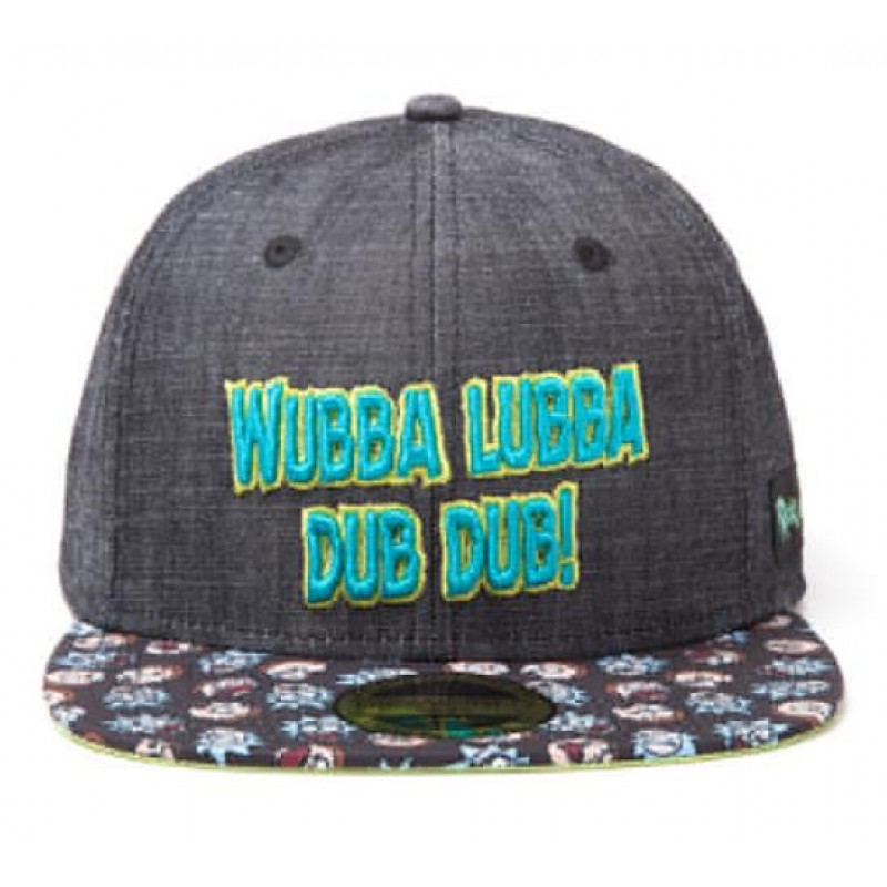 Rick and Morty -  Wubba Lubba Snapback Cap - SB081220RMT