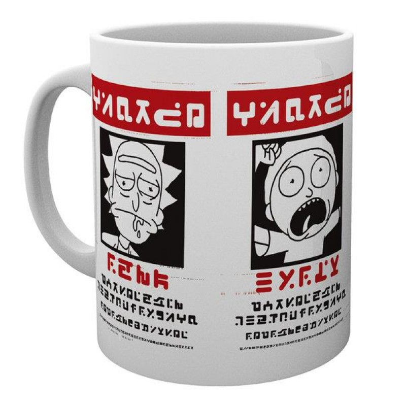 Rick and Morty -  Wanted Mug - MG1743