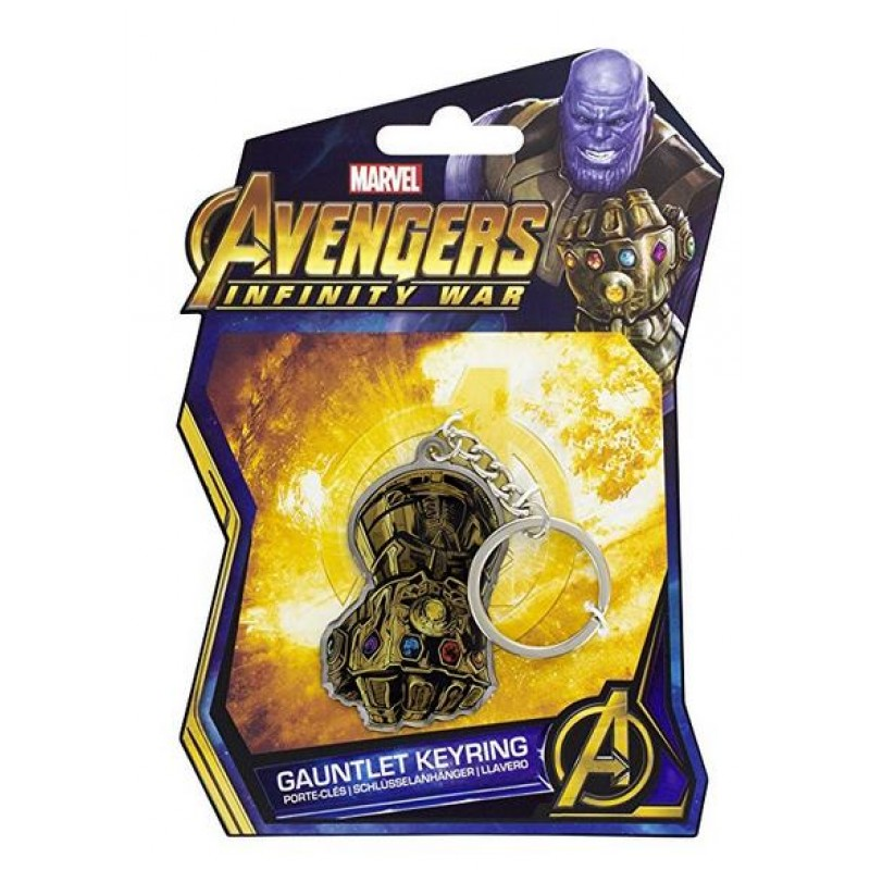 Marvel Avengers Infinity War -  Gauntlet Keyring - PP4459MVIW
