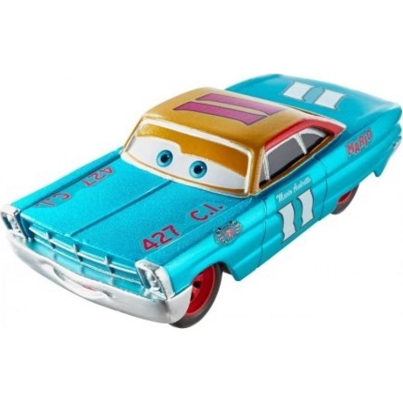 Disney Pixar Cars -  Metallic Mario Andretti -  Scavenger Hunt - FLM17