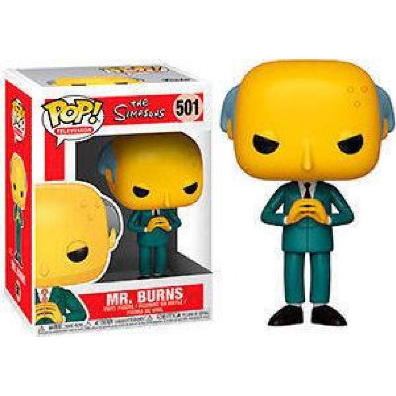 Funko POP Television: The Simpsons - Mr. Burns 501 Vinyl Figure