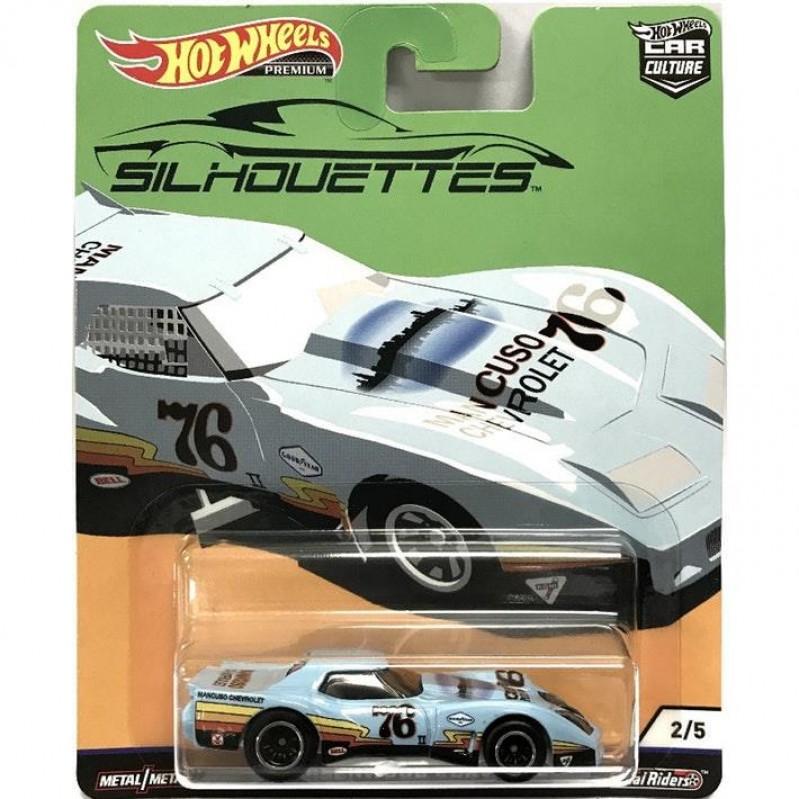 Hot Wheels Premium: Silhouettes - '76 Greenwood Corvette (FYN65)
