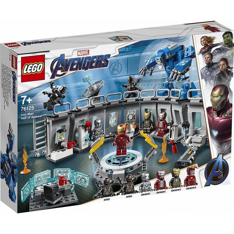 LEGO Marvel Avengers: Iron Man Hall of Armour (76125)