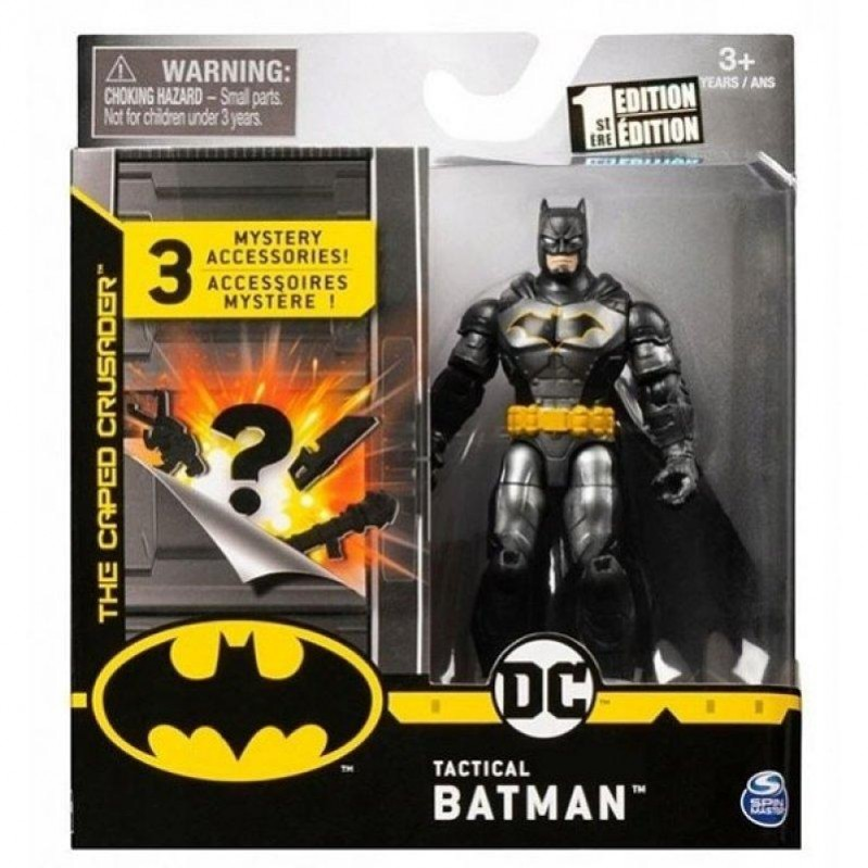 Spin Master Batman: The Caped Crusader - Tactical Batman (10cm) (20127081)