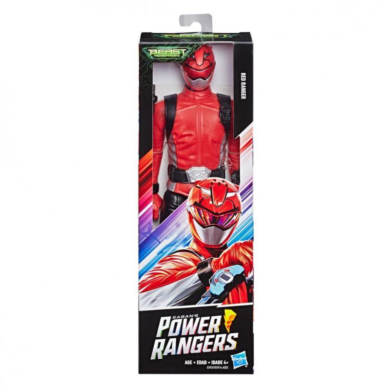 Hasbro Saban's Power Rangers: Beast Morphers - Beast-X Red Ranger Figure (30cm) (E7802)