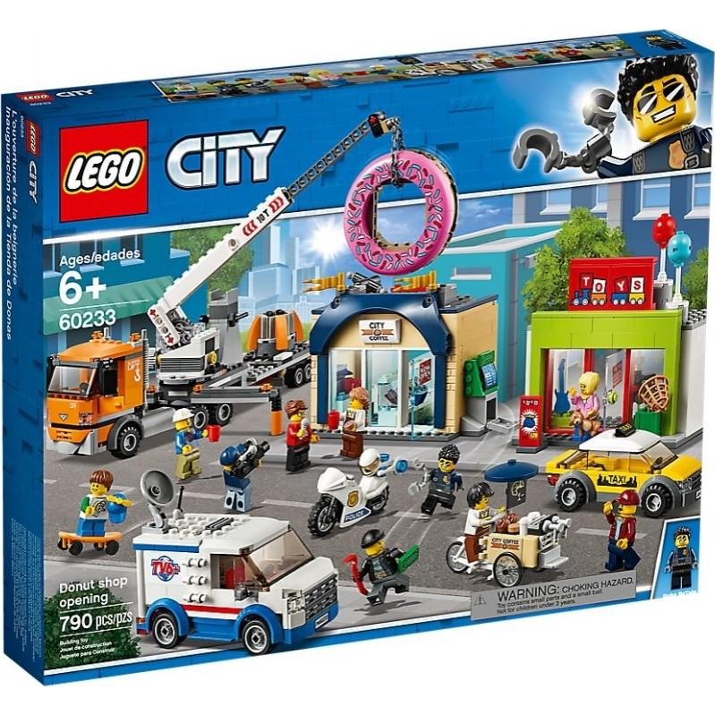 LEGO City: Donut shop opening (60233)