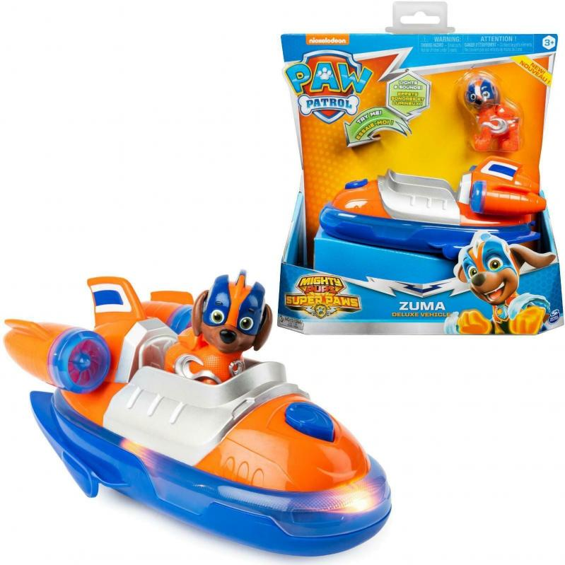 Spin Master Paw Patrol: Mighty Pups Super Paws - Zuma Deluxe Vehicle (20115480)