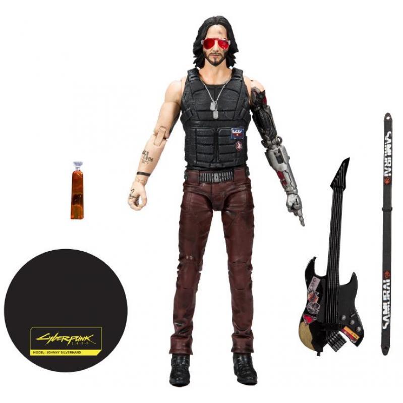 McFarlane Cyberpunk 2077 - Johnny Silverhand Action Figure (18cm) 787926135015