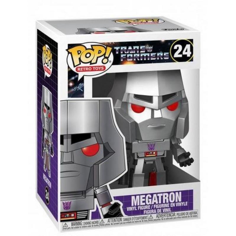 Funko POP! Retro Toys: Transformers - Megatron 24 Vinyl Figure 889698509671