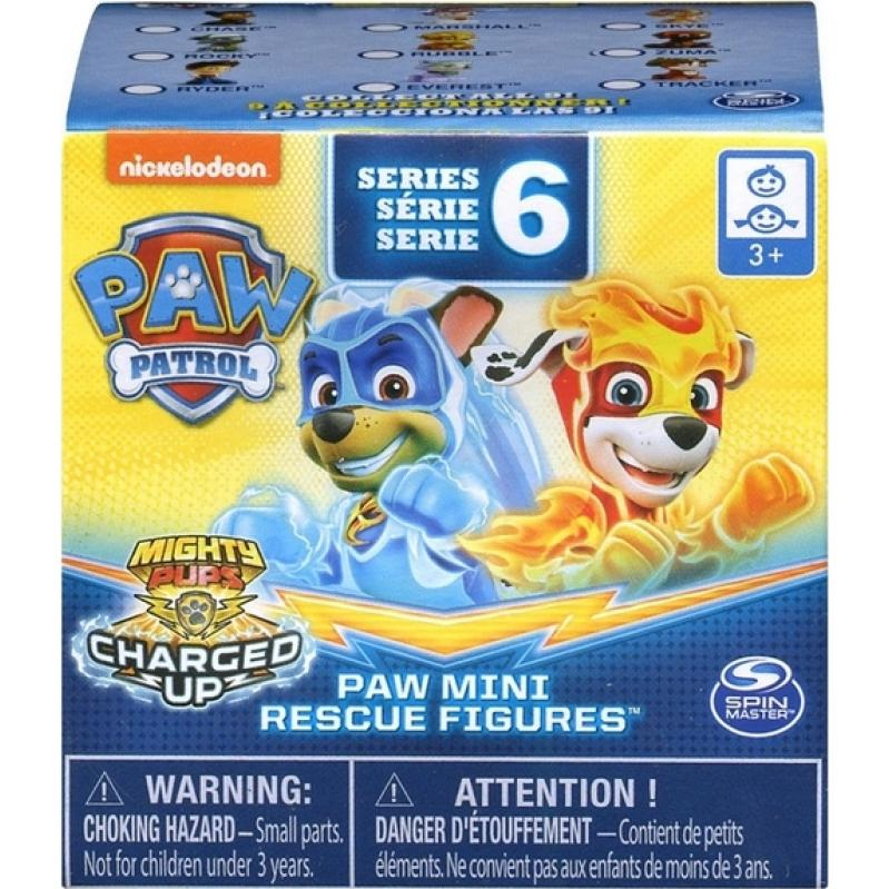 Spin Mater Paw Patrol: Mighty Pups Super Paws - Blind Box Mini Figures (Series 6) (20120180)