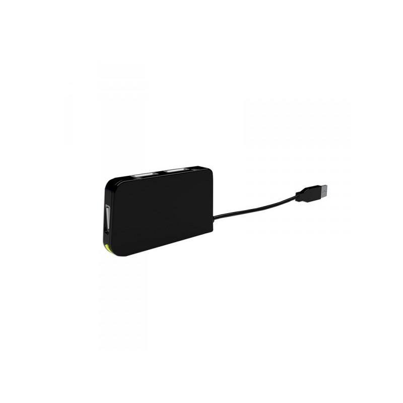 APPROX USB 4 Ports Travel Hub USB 2.0 Black APPHT4BK