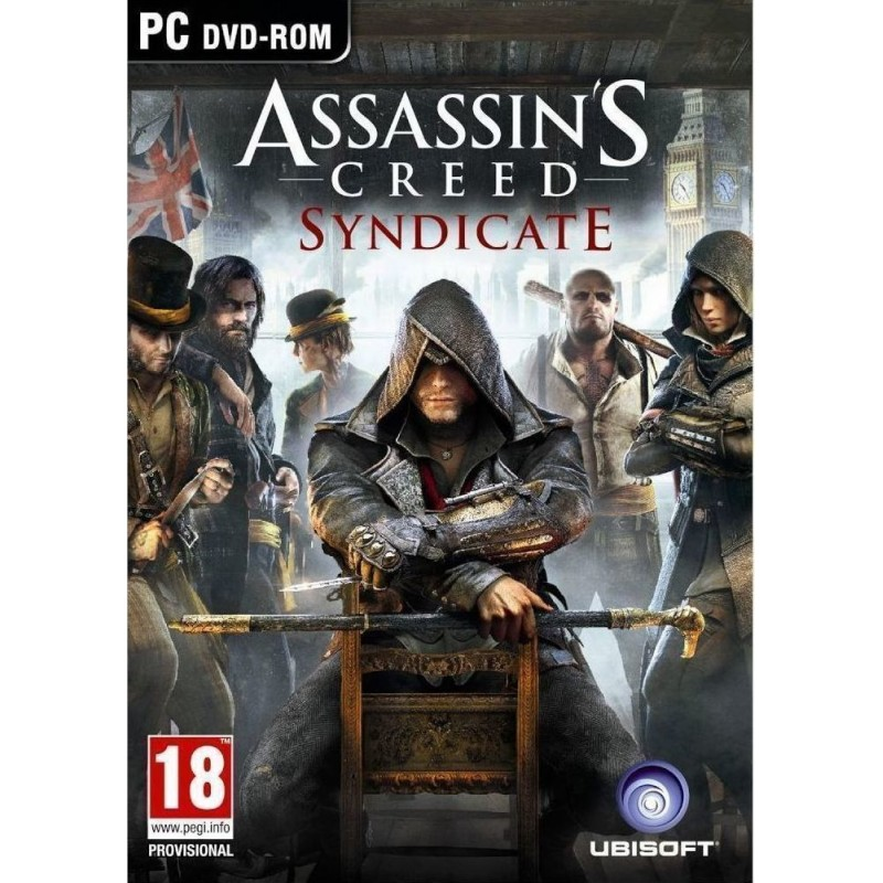 Assassin's Creed Syndicate-Κωδικός για κατέβασμα χωρίς CD-DVD