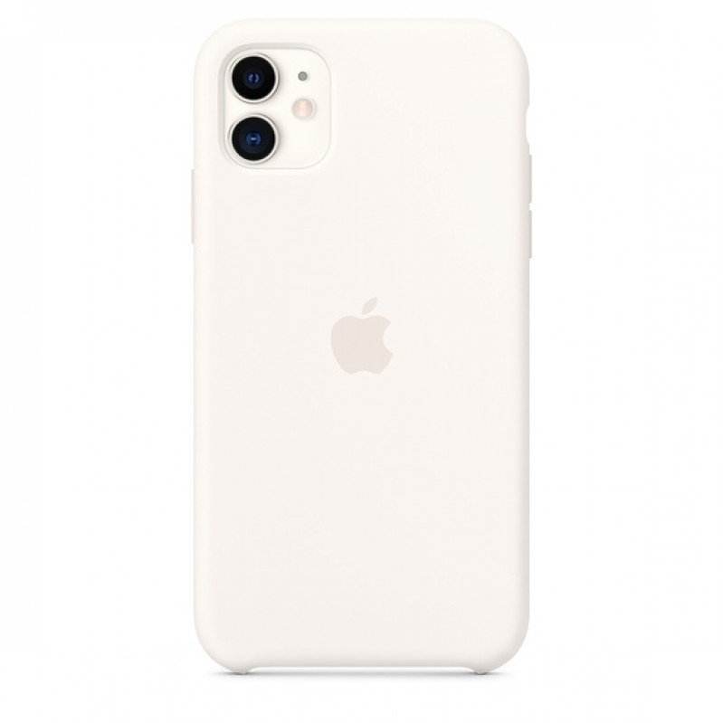 Accessory for iPhone APPLE iPhone 11 Silicone Case - White MWVX2ZM/A