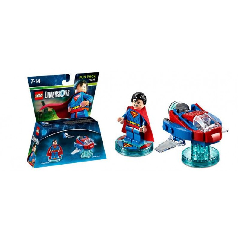 Lego Dimensions: Fun Pack -  Superman (DC Comics) - Video Game Toy 71236