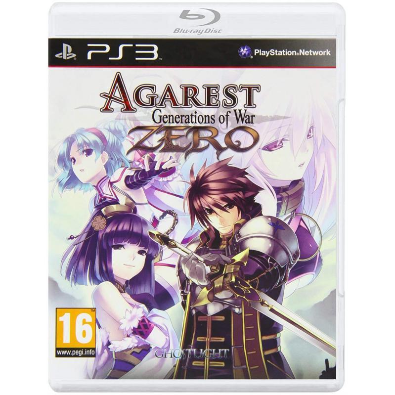 Agarest: Generation of War Zero- Standard Edition-PS3