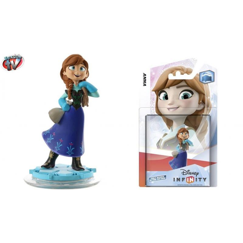 Disney Infinity Character -  Anna - Video Game Toy (CRD) 48054
