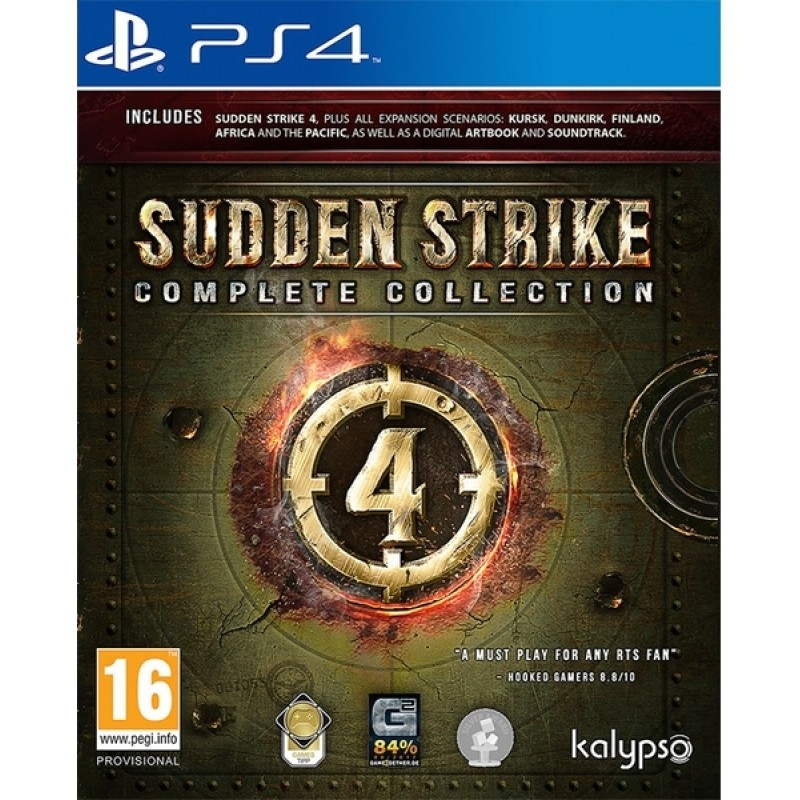 Sudden Strike 4 - Complete Collection -PS4