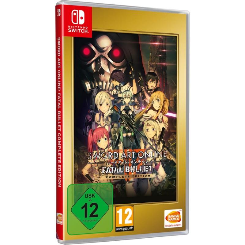 Sword Art Online: Fatal Bullet - Complete Edition -Switch