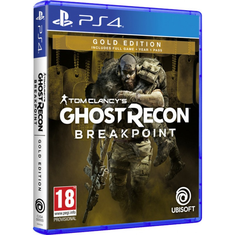 Tom Clancy's Ghost Recon: Breakpoint - Gold Edition  -PS4