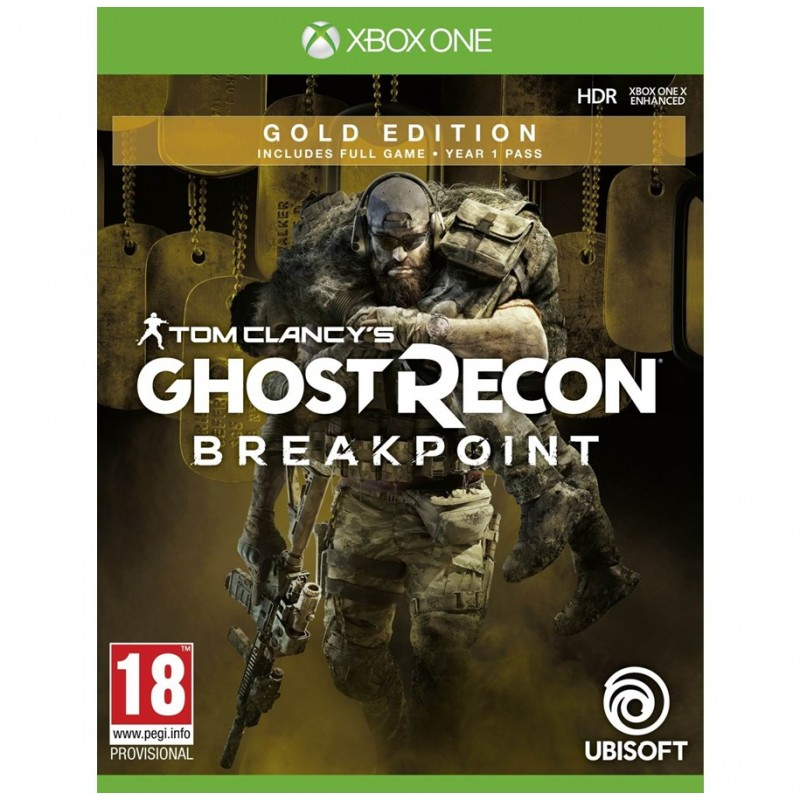 Tom Clancy's Ghost Recon: Breakpoint - Gold Edition -Xbox One