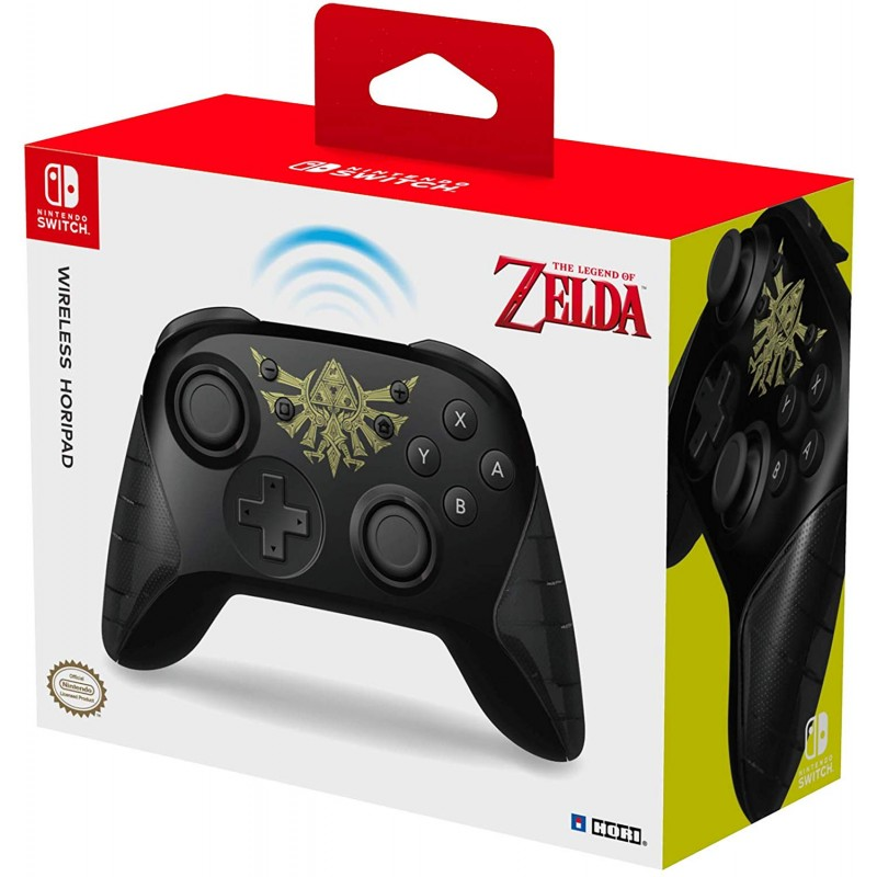 Hori -  Zelda Wireless Pro Controller (For Nintendo Switch) - switch