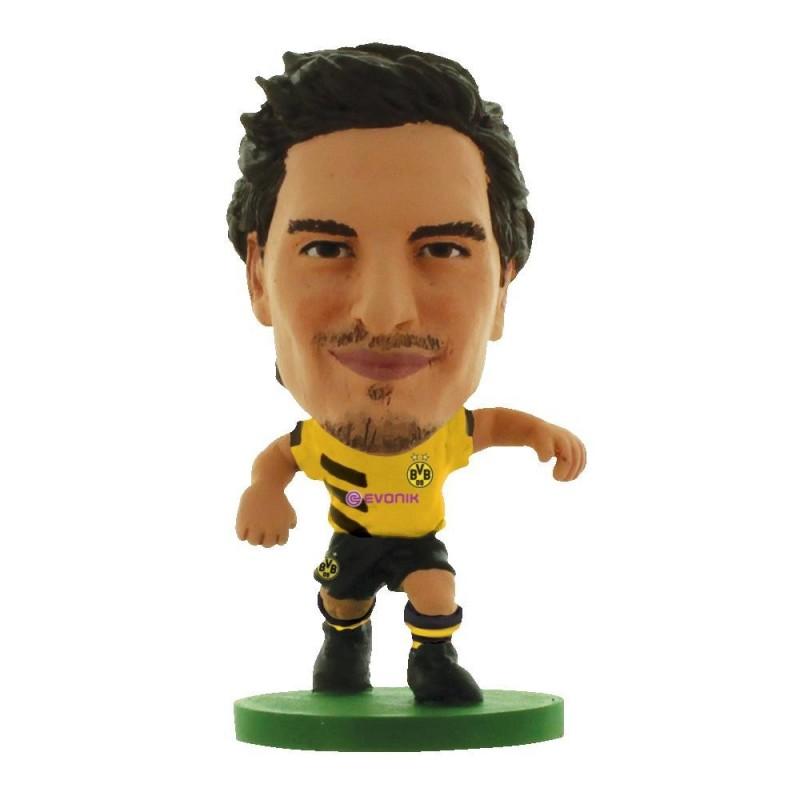 SoccerStarz- Borussia Dortmund Mats Hummels- Home Kit (2016 version)-Figures