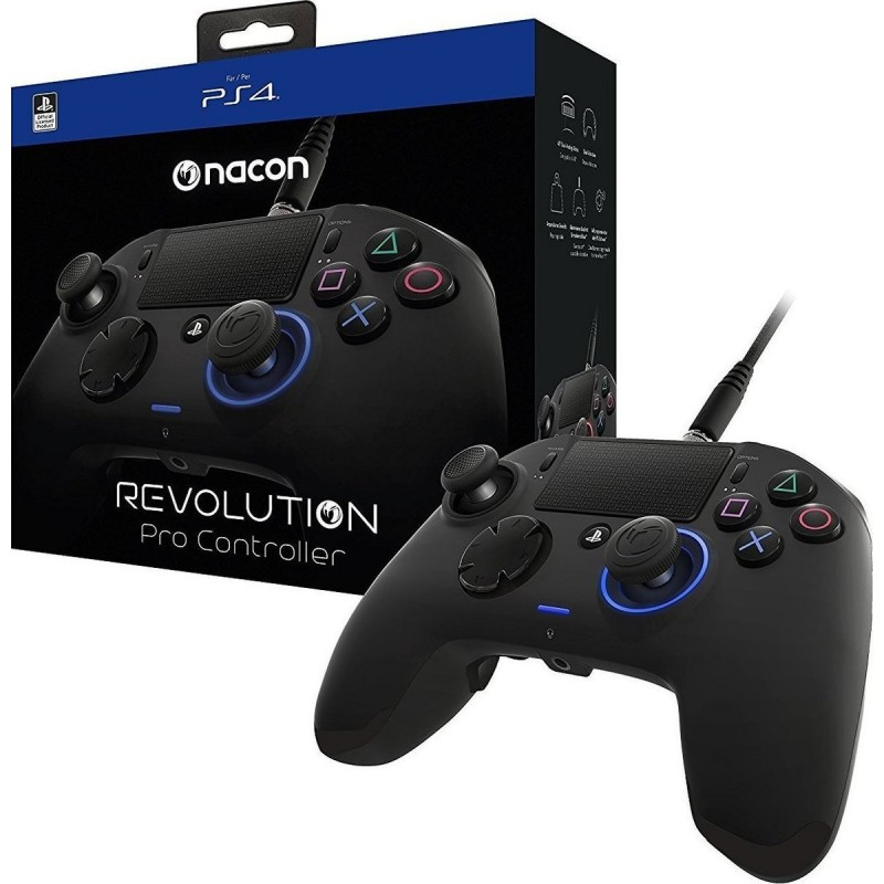 PS4 Nacon Revolution Pro Controller - Black Version 2