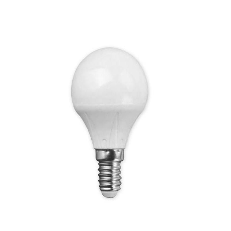 Λάμπα Σφαιρική LED 7W-E14 6500K Ψυχρό COM